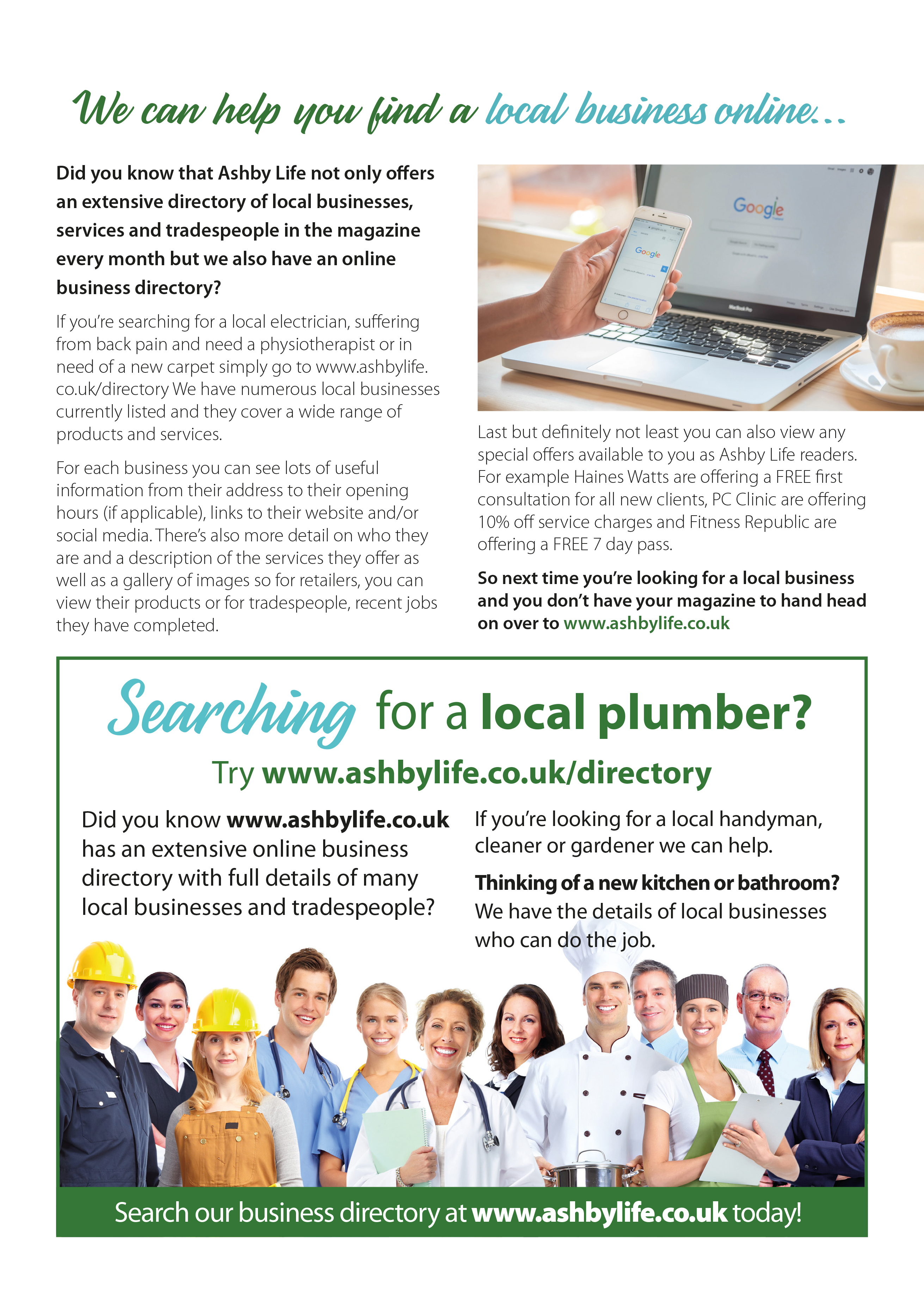 Our online business directory can help you find a local