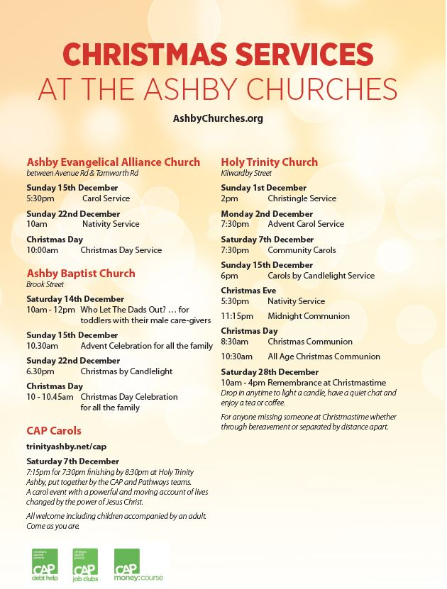 ashby christmas services