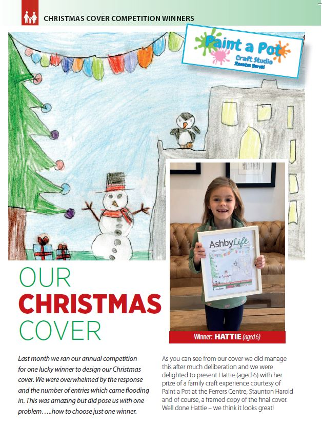 Christmas Cover Competition Winners