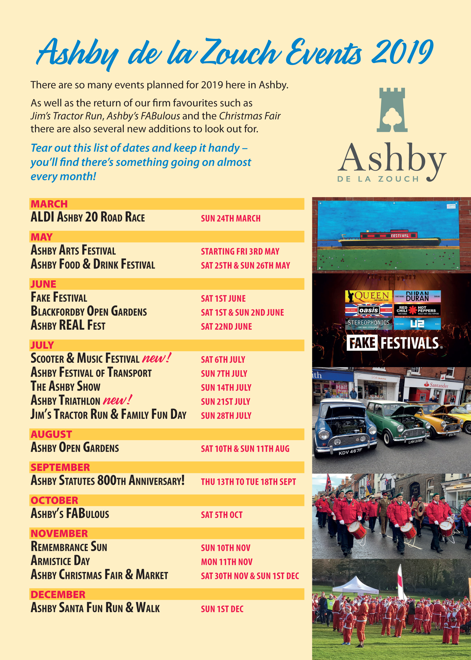 Ashby Council Events for March