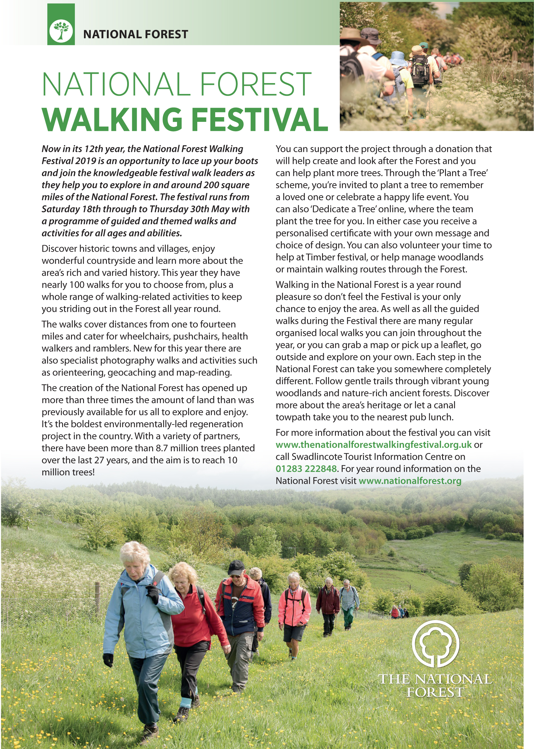 National Forest Walking Festival